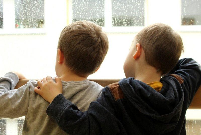 I bambini vogliono uscire e hanno ragione