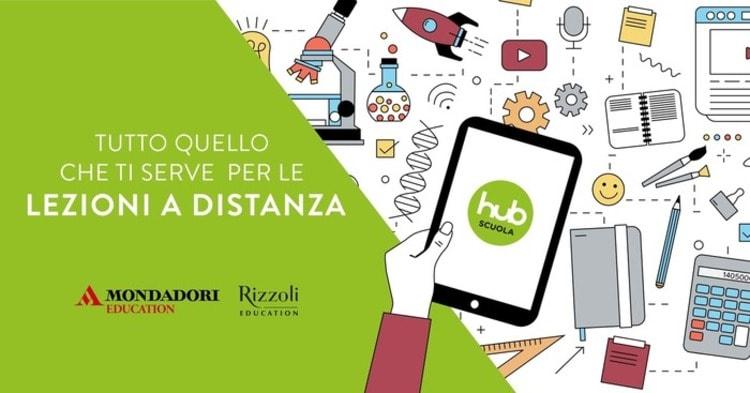 Mondadori e Rizzoli: contenuti digitali gratuiti per le lezioni a distanza