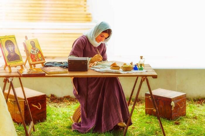 FJ Lab di disegno: dipingere come i pittori del Medioevo