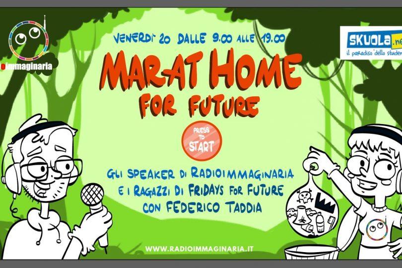 Fridays for future: segui in diretta la maratona sull'ambiente di Radio Immaginaria