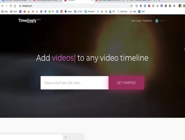 Didattica a distanza: come annotare un video di YouTube con Timelinely (VIDEO)