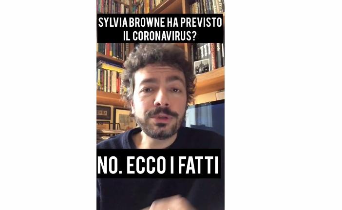 Massimo Polidoro smonta la bufala della profezia nel libro di Sylvia Browne (VIDEO)