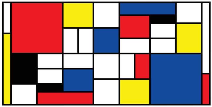 FJ Lab di disegno: dipingiamo un puzzle come Mondrian (VIDEO)