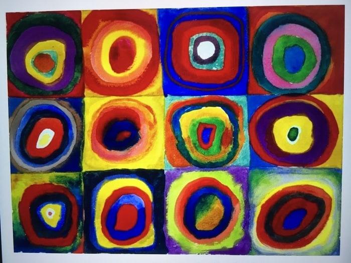 FJ Lab di disegno: i cerchi concentrici di Kandinsky (VIDEO)