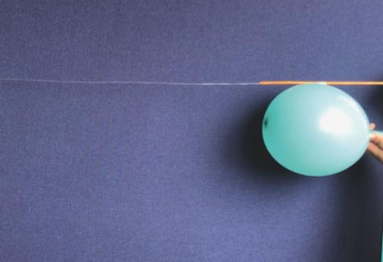 FJ Lab: il palloncino a reazione