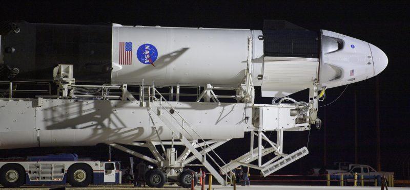Il razzo Falcon 9 di Space X sta per partire
