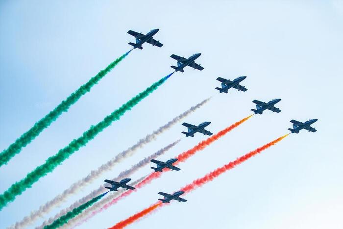 Gli acrobati azzurri del cielo: intervista alle Frecce Tricolori
