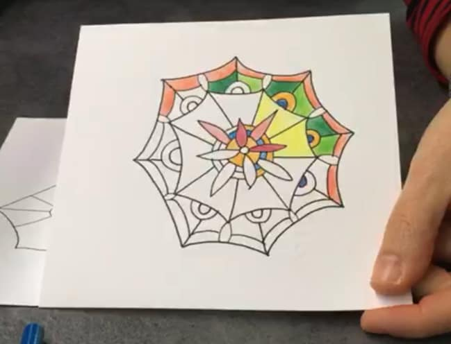 FJ Lab di disegno: disegniamo un Mandala (VIDEO)