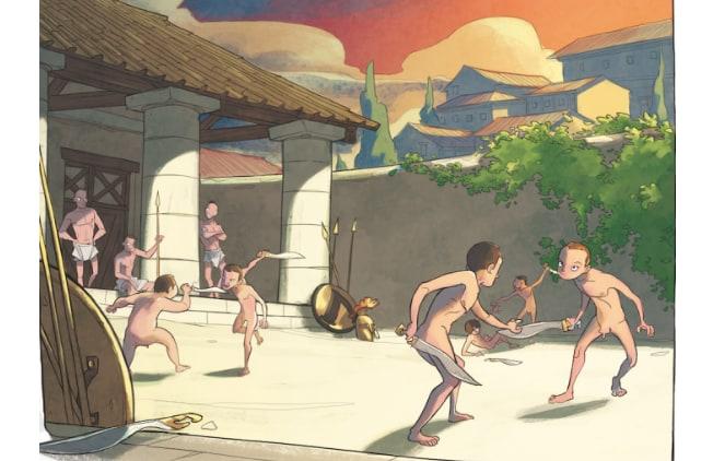 A spasso nel tempo: 24 ore nell'Antica Grecia. Come si viveva a Sparta?