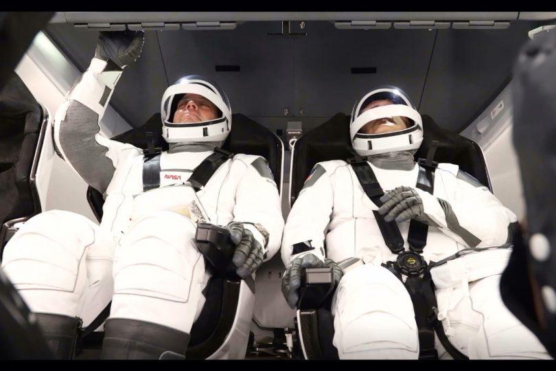 Le nuove tute degli astronauti Nasa