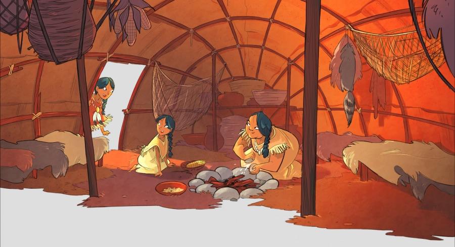 A spasso nel tempo: 24 ore con gli indiani d'America in compagnia di Pocahontas