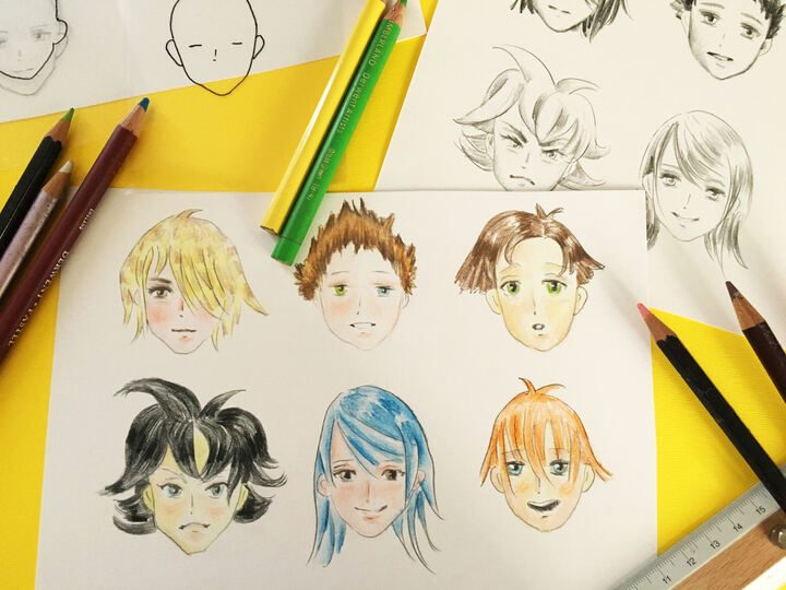 FJ Lab di disegno: facciamo un Manga – I CAPELLI (VIDEO)