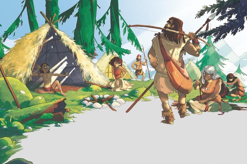 A spasso nel tempo: 24 ore con gli uomini primitivi della Preistoria