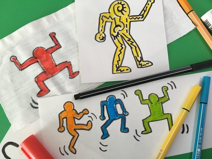FJ Lab artistico: lo stile di Keith Haring (VIDEO)