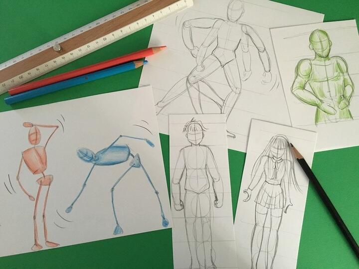 FJ Lab di disegno: facciamo un Manga – LE PROPORZIONI (VIDEO)