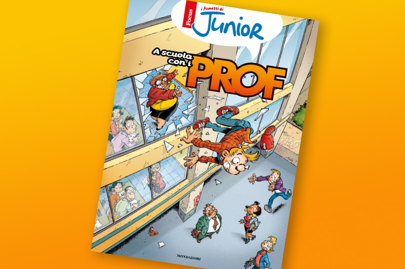 I prof di Focus Junior arrivano in libreria!