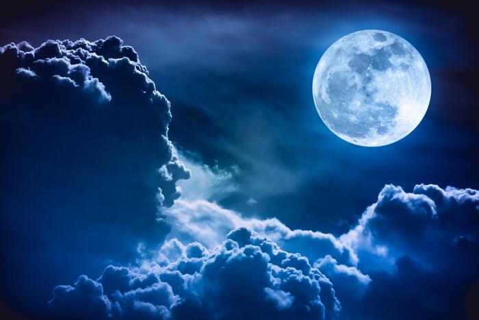 Che cos'è la Luna blu?
