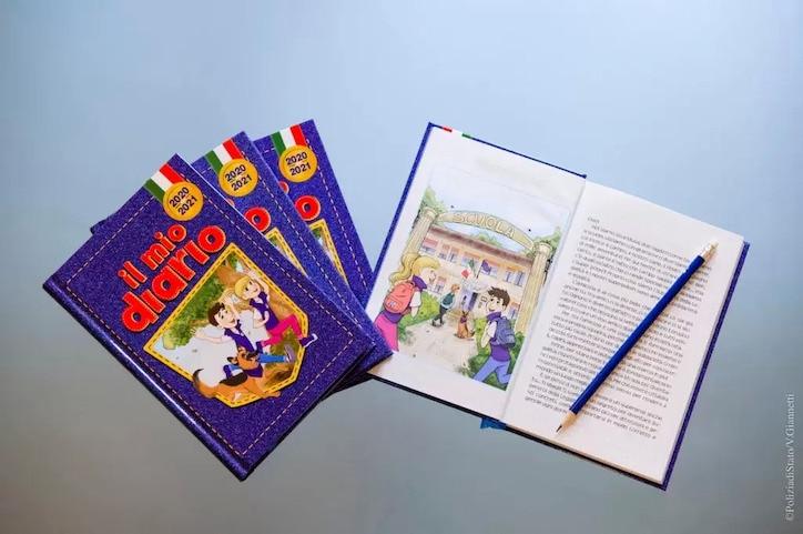 """""""Il mio Diario"""", l'agenda della legalità a scuola"""