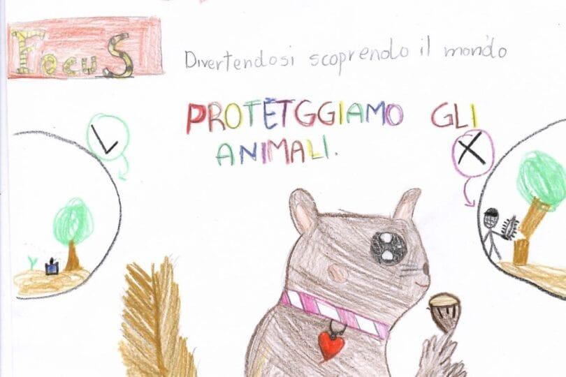 Gallery, i nostri amici animali nei disegni dei focusini 1