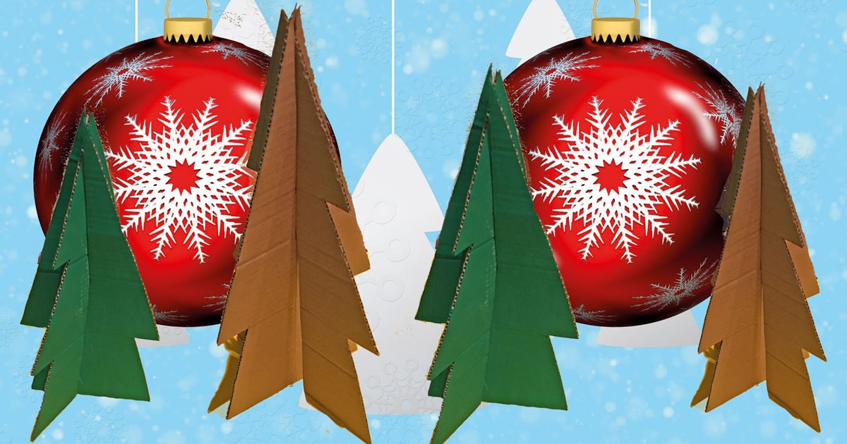 FJ Lab di Natale: l'Eco-albero di cartone (VIDEO)