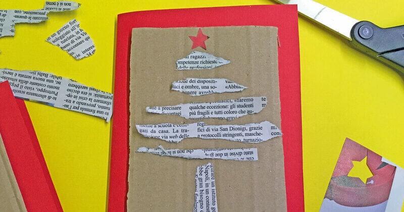 FJ Lab di Natale: il biglietto di Natale con giornale a strappo (VIDEO)