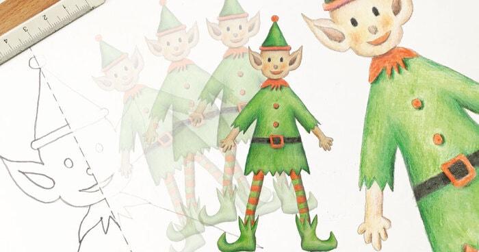 FJ Lab di Natale: disegniamo un elfo di Babbo Natale (VIDEO)