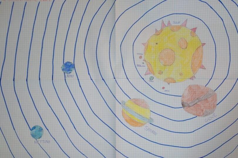Gallery, lo spazio e i pianeti nei disegni dei focusini 1