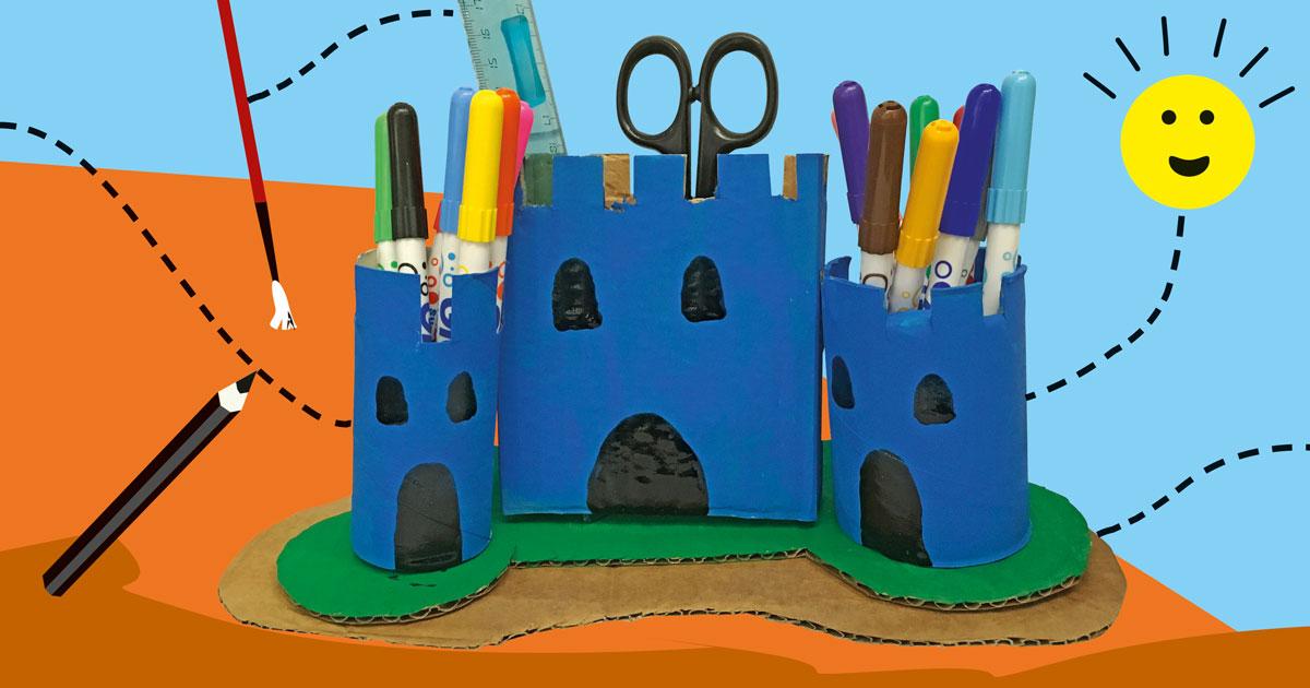 FJ Lab: il castello portapenne