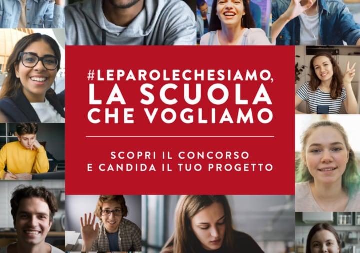 #Leparolechesiamo, la scuola che vogliamo: il concorso per la scuola del futuro
