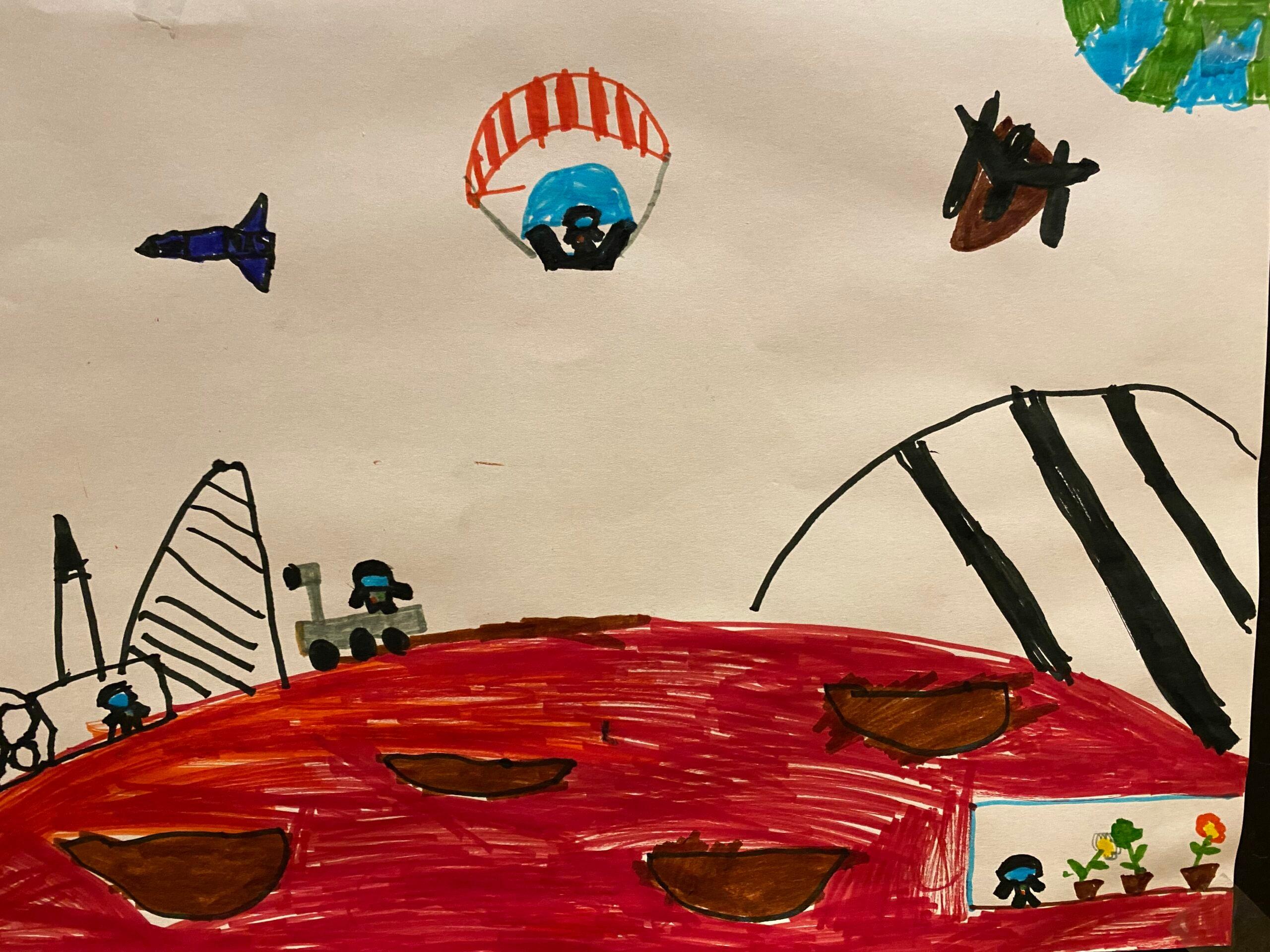 Gallery, lo spazio e i pianeti nei disegni dei focusini 2