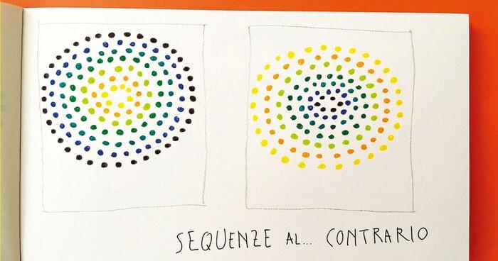 Sequenze di colori... al contrario