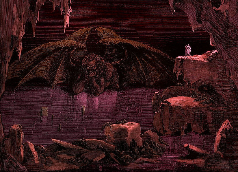 I mostri dell'Inferno di Dante