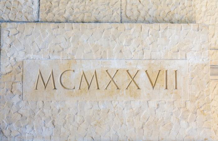 Numeri romani: cosa sono e come funzionano
