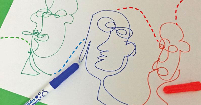 FJ Lab artistico: il ritratto ad occhi chiusi (VIDEO)