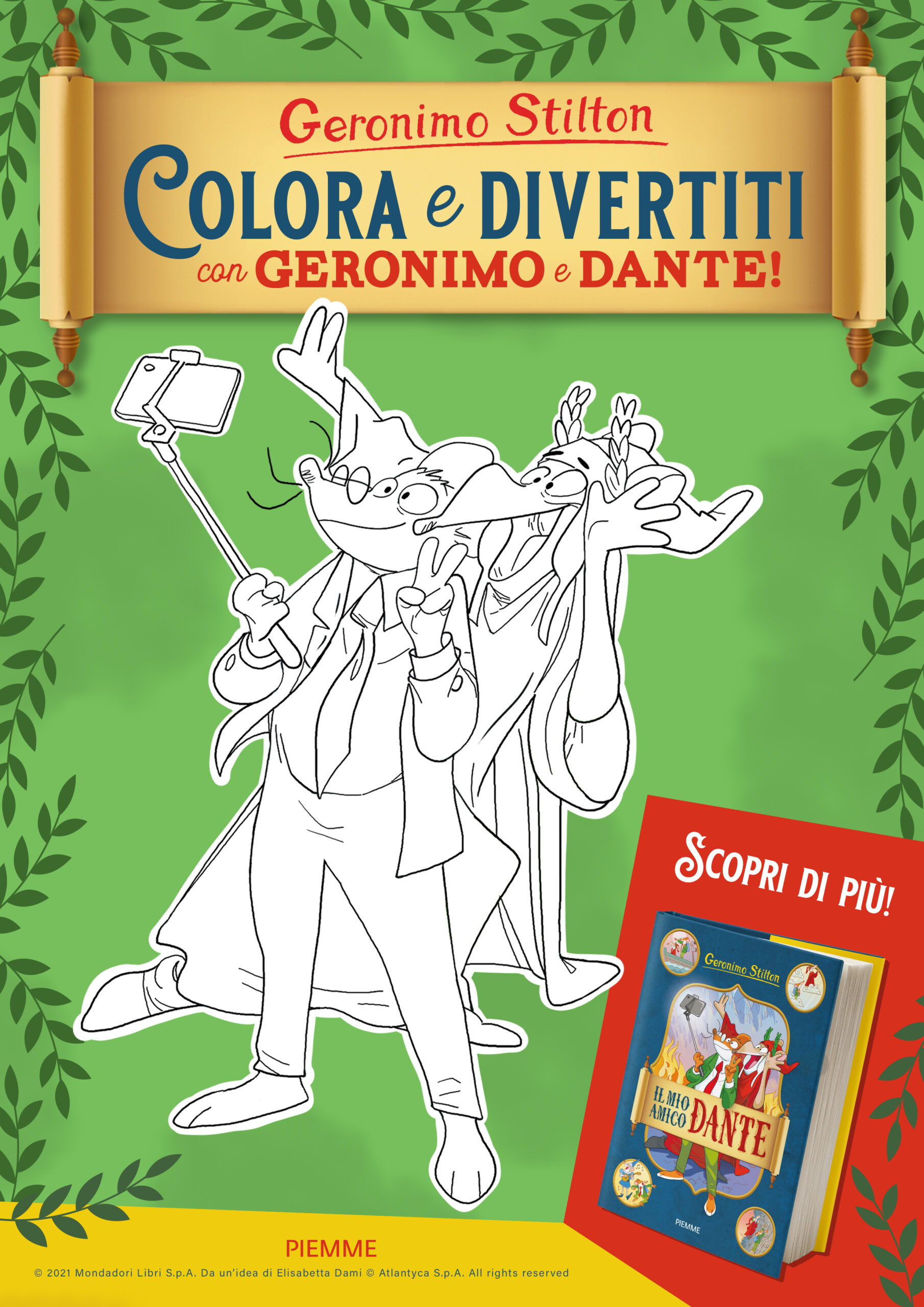 Colouring Dante