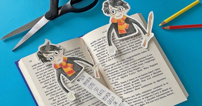 FJ Lab: il segnalibro di Harry Potter