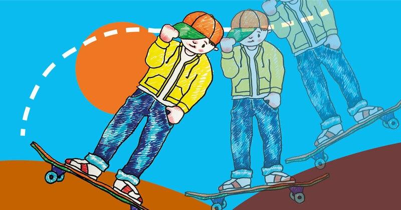 FJ Lab artistico: disegniamo uno skater