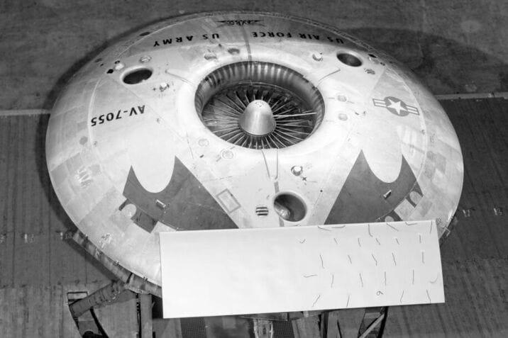 Avrocar: lo strano UFO made in Canada