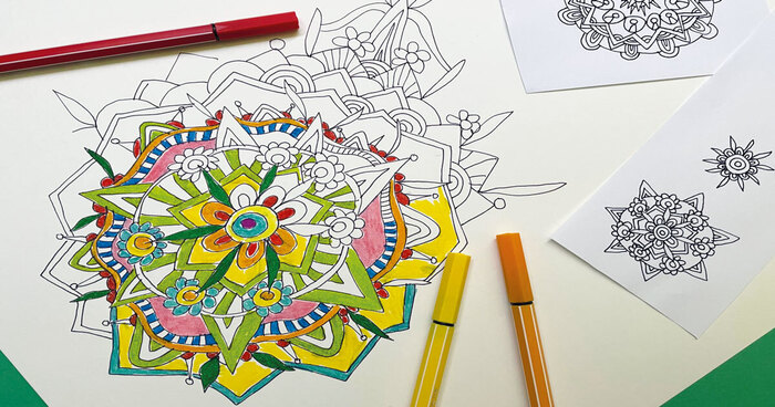 FJ Lab artistico: il Mandala ispirato alla Primavera (VIDEO)