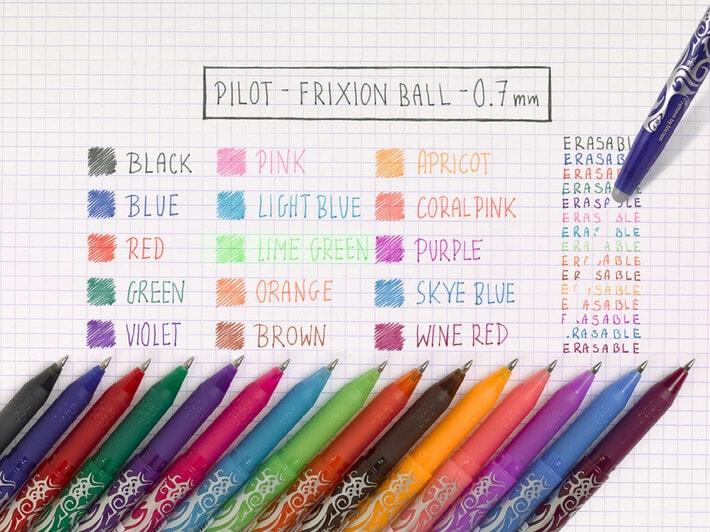 FriXion Ball, la penna che cancella gli sbagli!