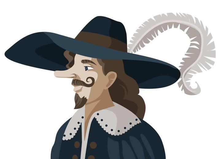 Cyrano, il personaggio dal grande naso, è esistito davvero?