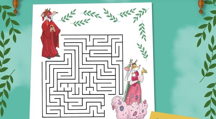 Gioca con Geronimo e Dante: il labirinto dantesco