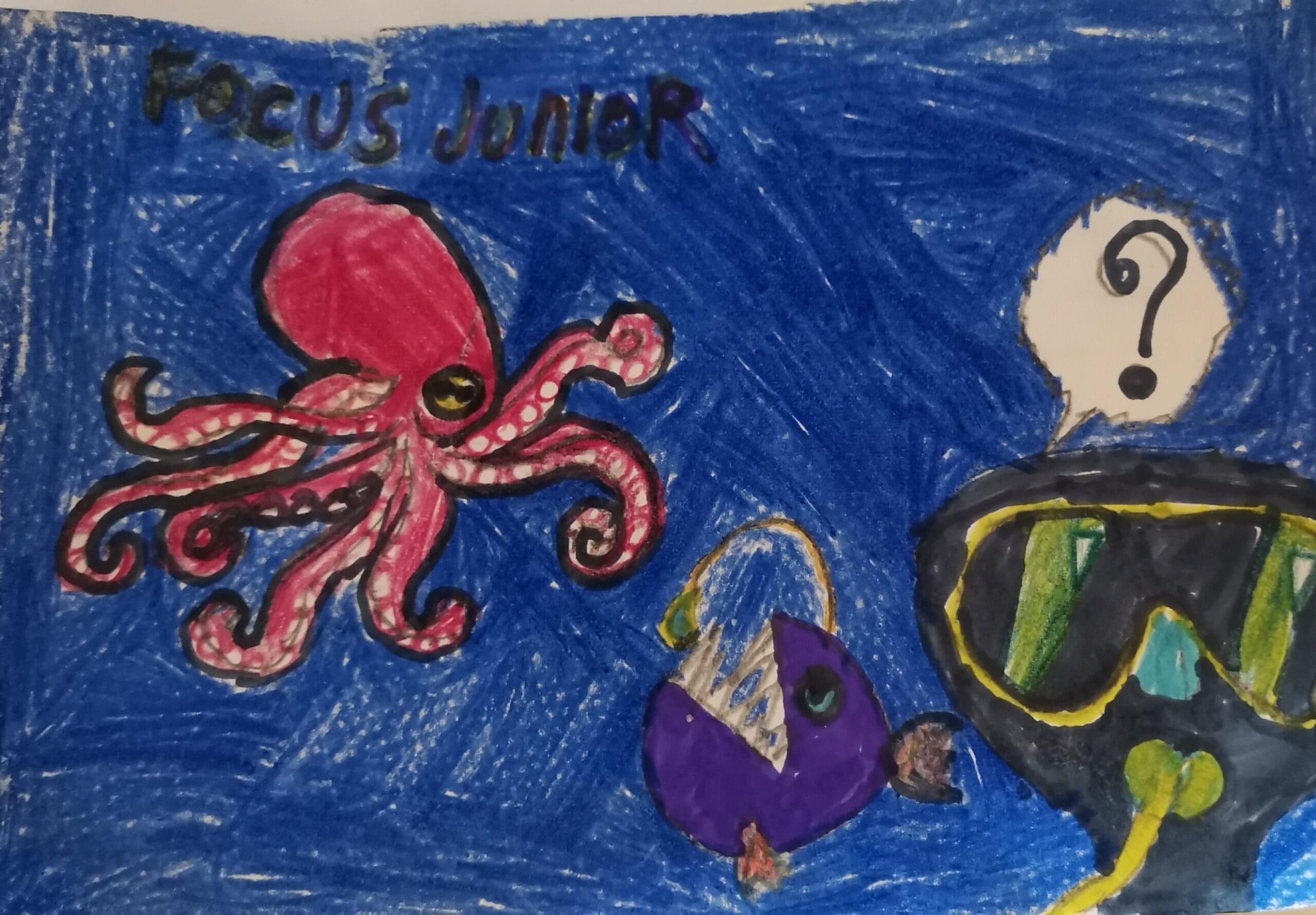 Gallery, i nostri animici animali nei disegni dei focusini 9