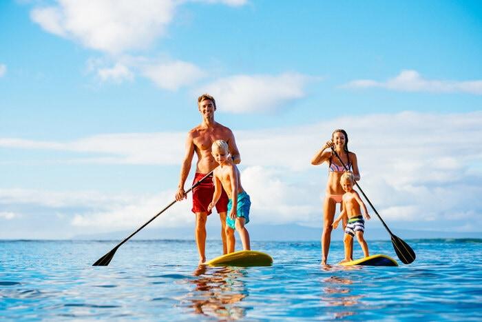 Il Sup, lo sport acquatico per tutte le età