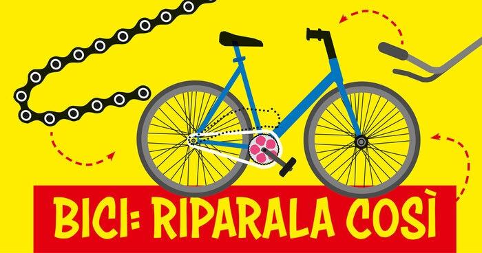 FJ Lab: Come riparare la bicicletta