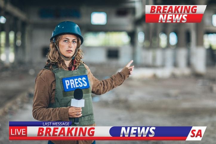 Perché i giornalisti vanno nei Paesi in guerra?