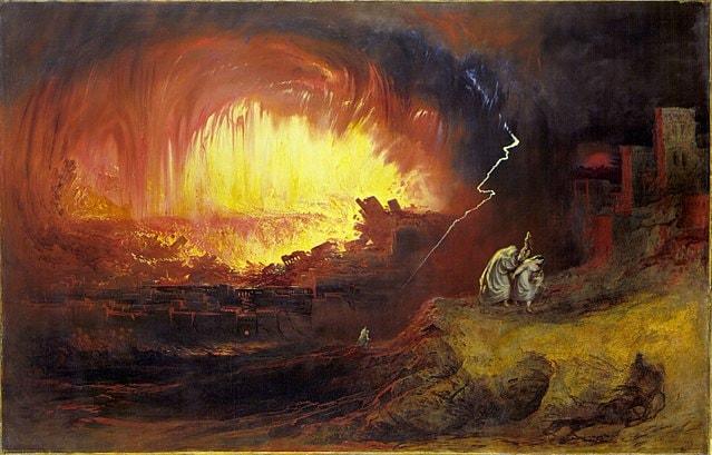 L'asteroide misterioso che ha ispirato la storia di Sodoma e Gomorra