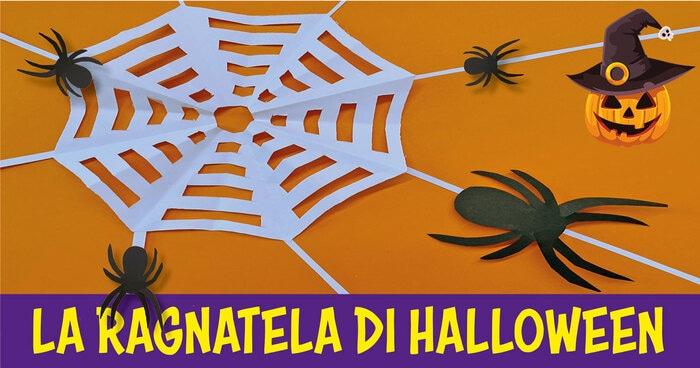 FJ lab di Halloween: la ragnatela e il ragno
