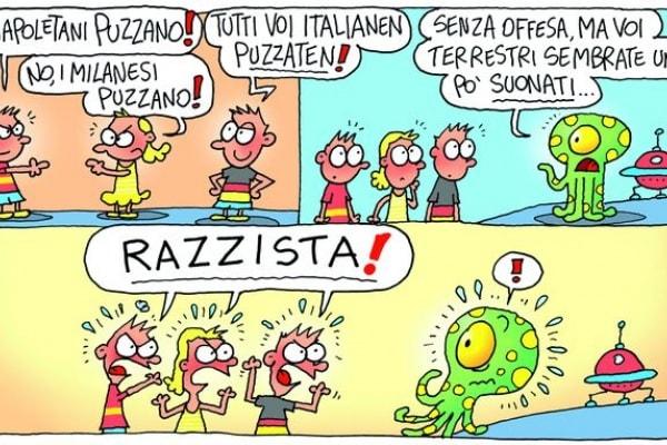 Vietato l'ingresso ai cani e… agli italiani