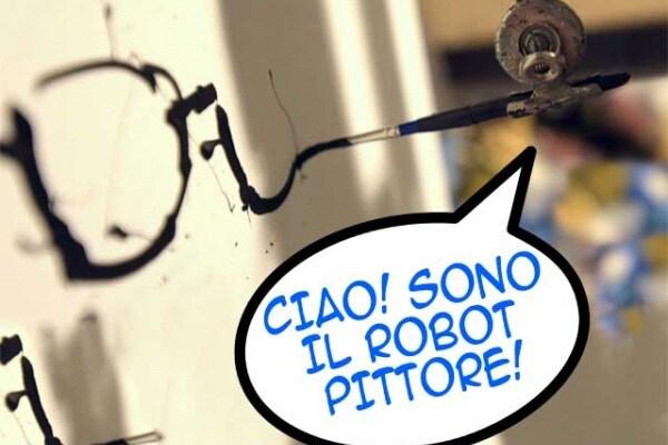 bitPaintr, il robot che dipinge come Leonardo
